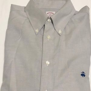 Brooks Brothers Madison no iron dress shirt L